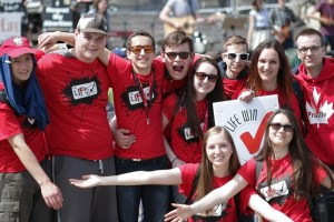 25 000 marchan por la vida en el Parlamento de Canadá