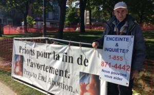 Las Clínicas de aborto han solicitado una orden judicial para silenciar a manifestantes pacíficos.