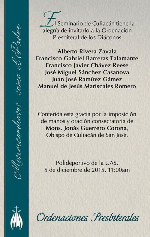 ordenacion diaconos seminario