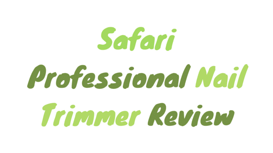 Safari professional nail trimmer