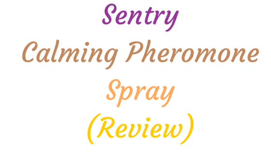 Sentry Calming Pheromone Spray