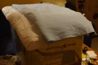couvertures chaudes et douilletes
