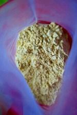Argile verte smectite de type montmorillonite en poudre