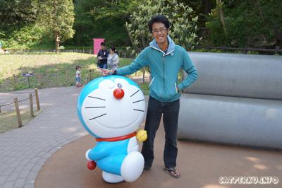 Bisa bertemu Doraemon dan mengunjungi Fujiko F Fujio Museum karena Garuda Indonesia.