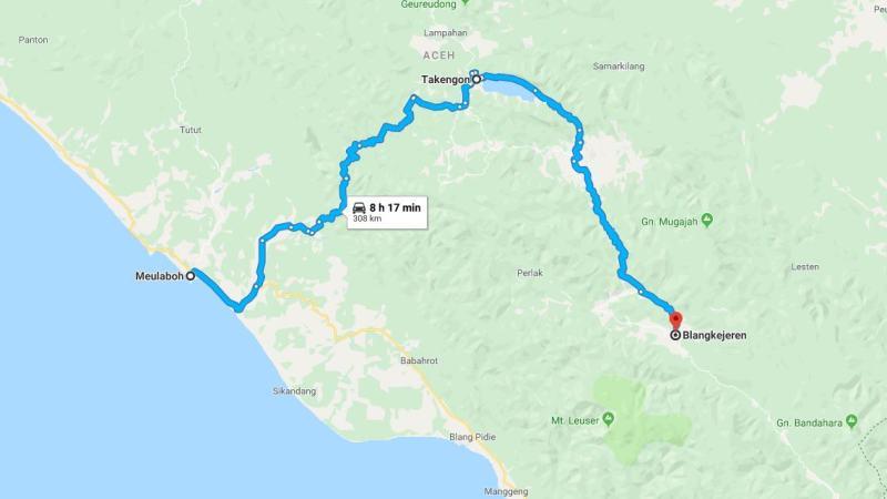 Day 3 - 10 Maret 2019 Meulaboh - Blangkejeren (via Takengon, Danau Laut Tawar)