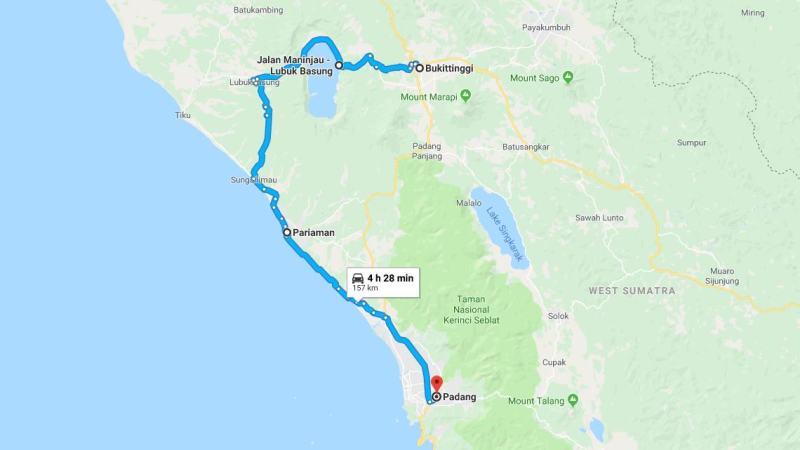 Day 11 - 18 Maret 2019 : Bukittinggi - Padang (via Danau Maninjau, Pariaman)