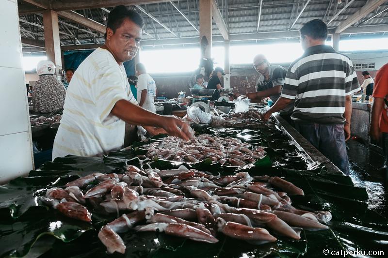 14. Pasar Tanjung Pandan