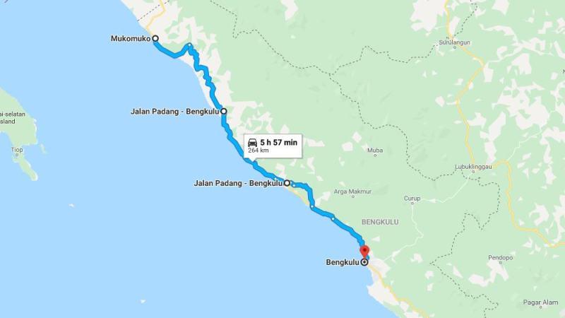 Day 16 - 23 Maret 2019 : Mukomuko - Bengkulu (via Ipuh, Ketaun)