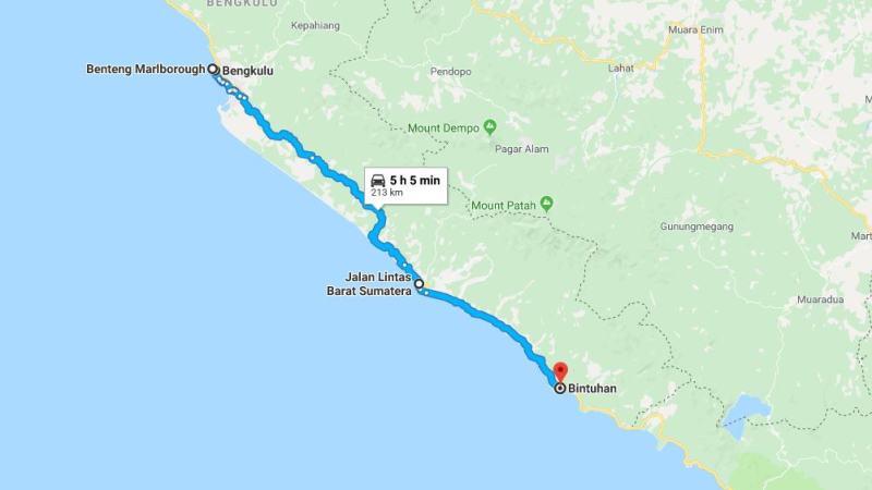 Day 17 - 24 Maret 2019 : Bengkulu - Bintuhan (via Benteng Marlborough, Mana)