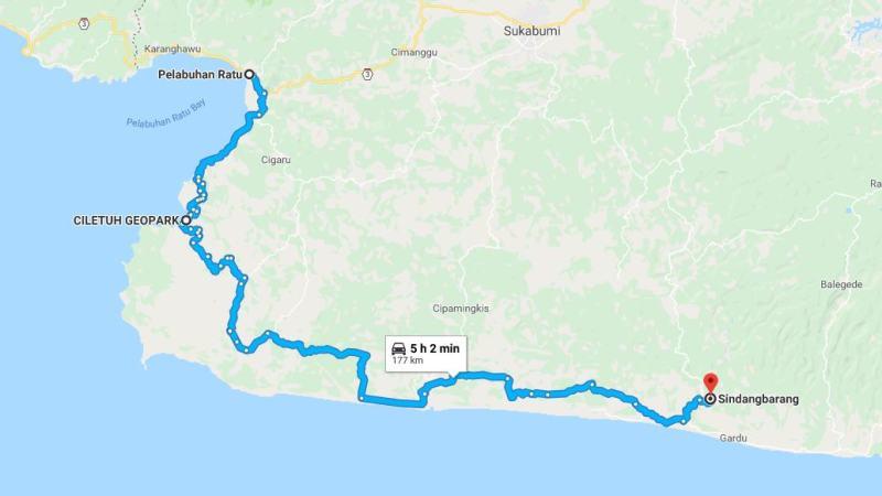 Day 22 - 29 Maret 2019 : Pelabuhan Ratu - Sindang Barang (via Ciletuh Geopark)