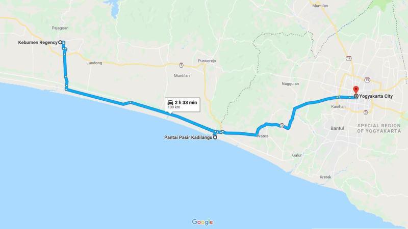 Day 28 - 4 April 2019 : Kebumen - Yogyakarta (via Mangrove Pantai Pasir Kadilangu)
