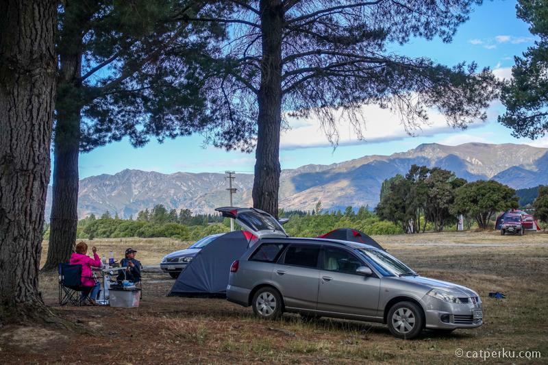Salah satu camping ground favorit saya