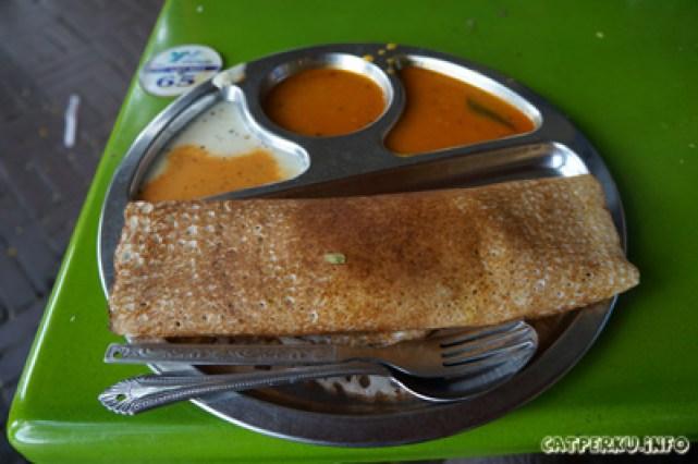 Thosai, si makanan unik asli India