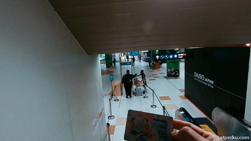 Ada stasiun MRT di Jakarta yang lokasinya di bawah tanah.