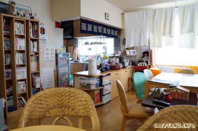 Dapur Aozora Inn, saya enggak pernah masak disitu sih :D lebih sering makan di luar.
