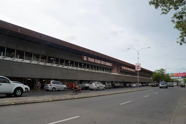 Asik juga loh blusukan di Pasar Besar Kota Kinabalu!