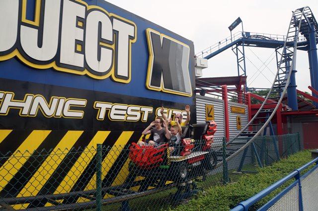 Bagian paling serem dari Project X di Legoland Malaysia adalah ketika lewat sini!