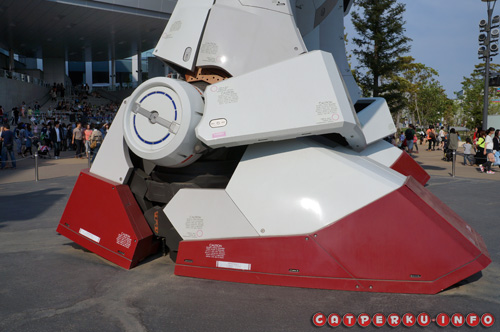 Kaki si Gundam yang gedeeee!