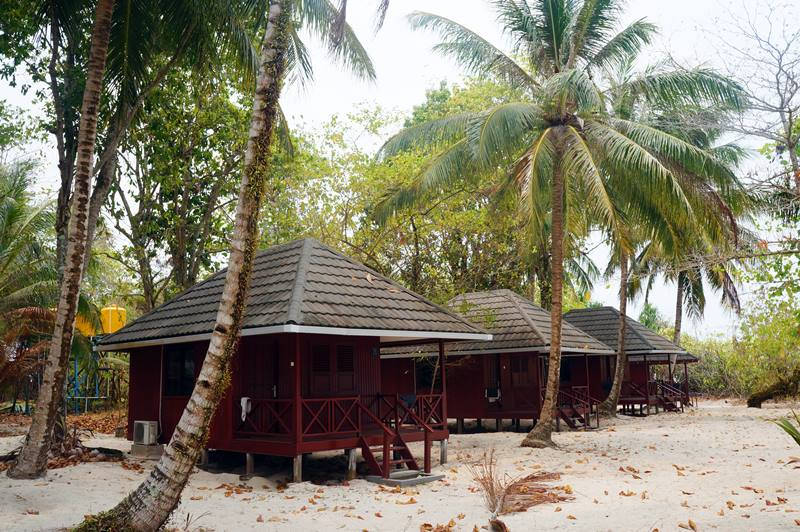 Cottage punya Sangalaki Manta Paradise Resort