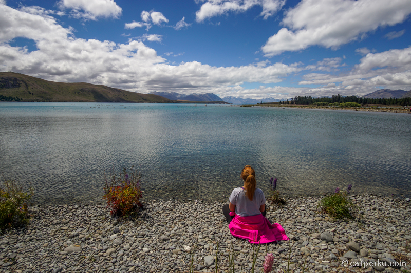 Danau Tekapo, tempat sempurna untuk merenung