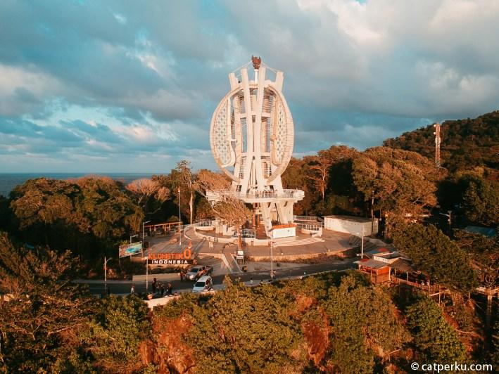 Dari Tugu Nol Kilometer di Sabang inilah perjalanan Pertamina Enduro Touring dimulai.