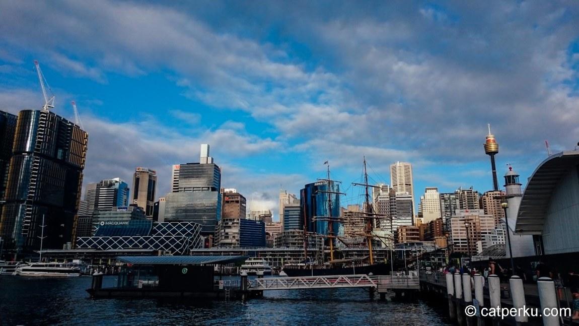 Darling Harbour, salah satu tempat ngehits di Sydney