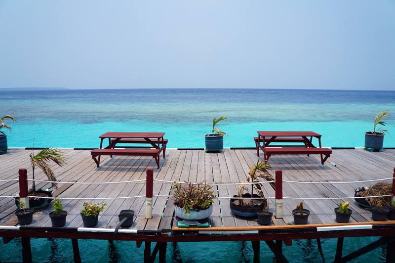 Dermaga resort adalah tempat paling menyenangkan untuk menghabiskan waktu