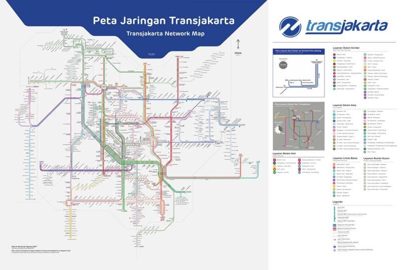 Peta rute Transjakarta lengkap semua koridor, klik untuk download (sumber : www.transjakarta.co.id)