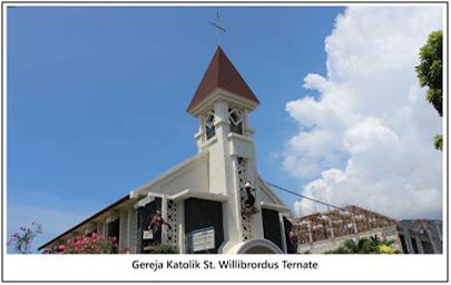Gereja katolik st willibrordus, Ternate