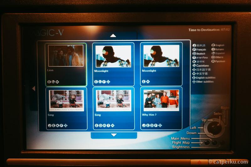 Hiburan film di JAL updated, dan ada beberapa film jadi favorit saya.