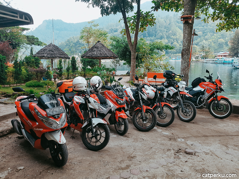 Ini dia 6 Sepeda Motor Yang Digunakan untuk touring Sumatera - Jawa sejauh 5000 KM++