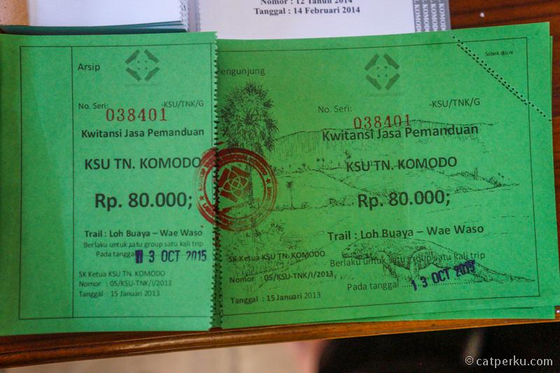 Jasa Pemanduan TN Komodo IDR 80.000
