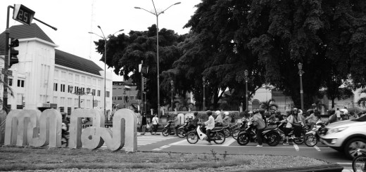 Jogjakarta In Contrast - BW (Cover)