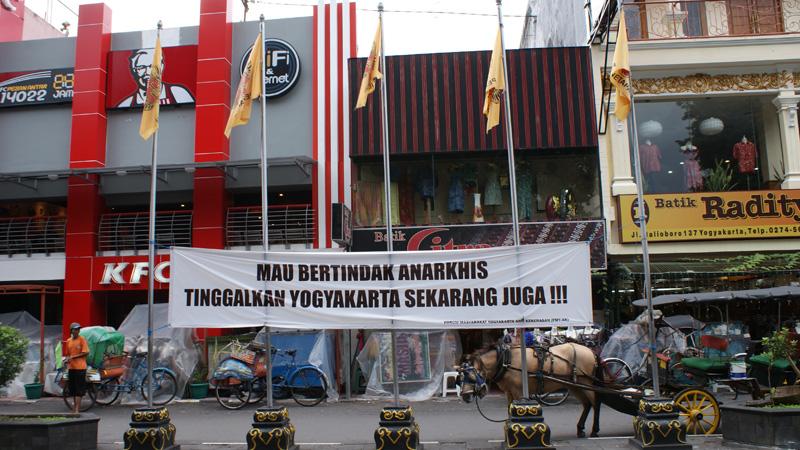 Yogyakarta cinta damai