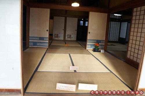 Mengintip rumah para samurai yang kondisinya masih tetap sama sejak abad ke 16