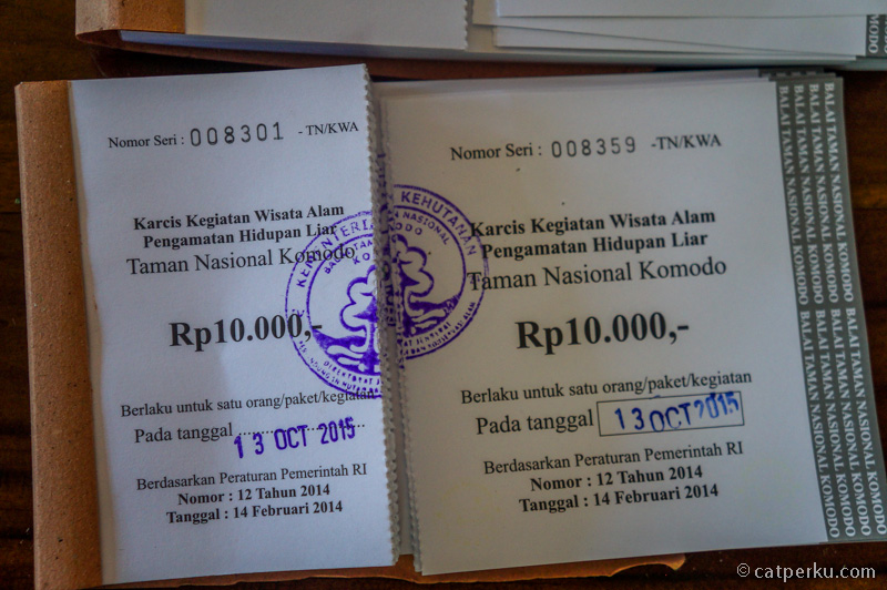 Karcis Kegiatan Wisata Alam Pengamatan Kehidupan Liar IDR 10.000
