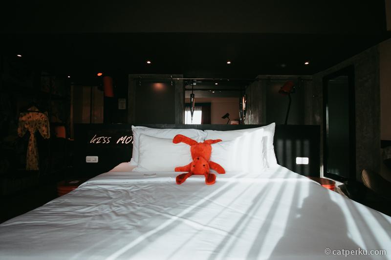 Kasur empuk, enak untuk tidur~
