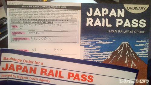 Japar Rail Pass kunci utama untuk keliling Jepang dengan fleksibel