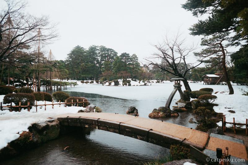 Kenrokuen Garden di Musim Dingin oke juga!