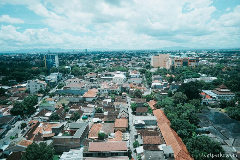Kota Solo dari ketinggian