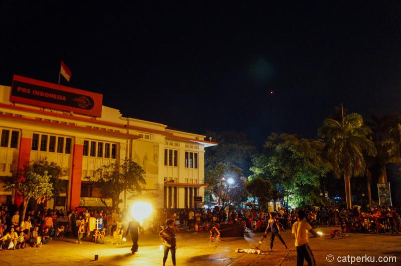 Kota Tua Jakarta, paling seneng kesini malam hari
