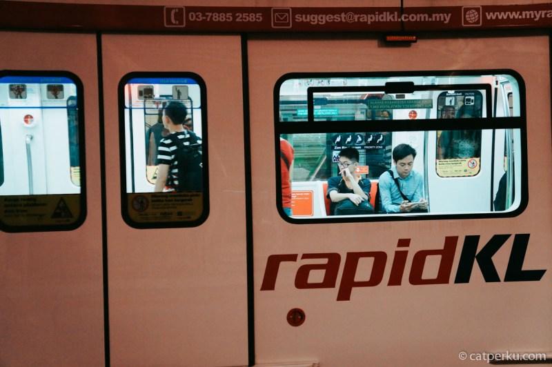 Kuala Lumpur memiliki moda transportasi yang paling banyak dibanding kota lainnya