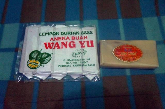 Lempok Durian, oleh - oleh khas Pontianak