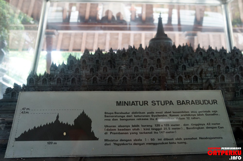 Pengen lihat Borobudur enggak perlu jauh - jauh datang ke Magelang :D