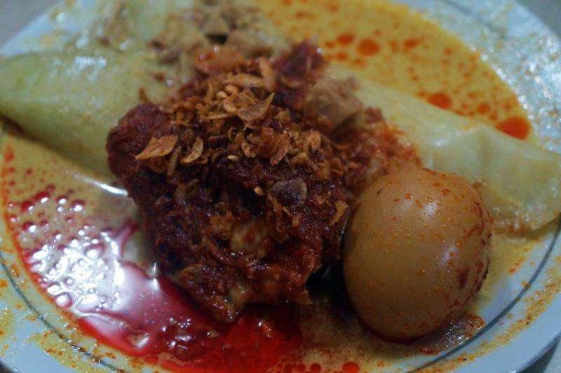 Lontong Orari, salah satu Kuliner Khas Banjarmasin