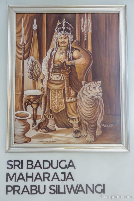 Lukisan ini salah satu favorit saya di Museum Pusaka Keraton Kasepuhan Cirebon