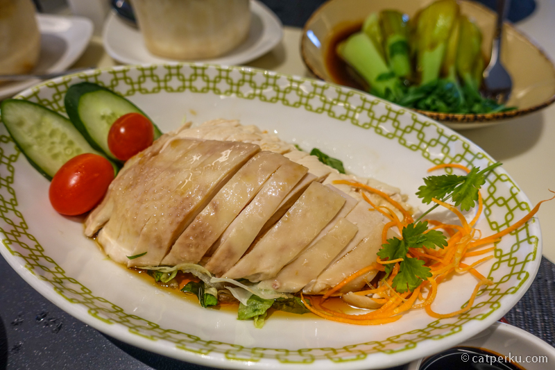Mandarin Chicken Rice yang bikin air liur meleleh~