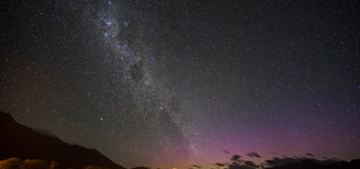 Mumpung lagi bagus, mejeng dulu sama Aurora Australis ya!