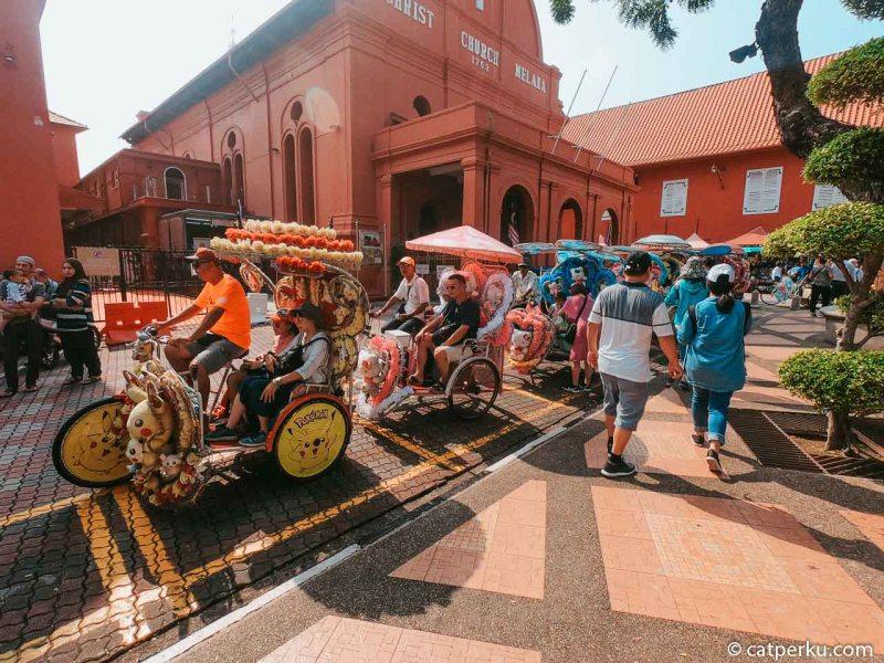 Menara Taming Sari Melaka.