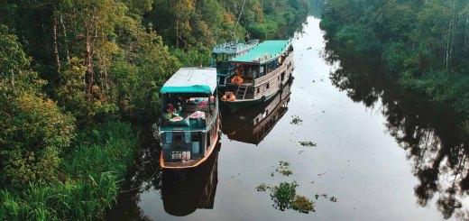 Naik kapal ini sambil menyusuri taman nasional!